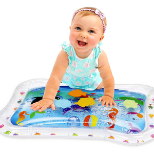 PRICE DROP: Kleeger Inflatable Baby Water Mat: Fun Activity Play Center for Children and Infants
