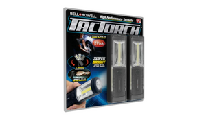 2-Pack: Bell + Howell Super-Bright LED TacTorch Flash Lights - Ships Quick!