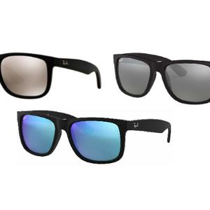 NEW ARRIVAL: Ray-Ban Justin Unisex Sunglasses (3 Models to Choose From) - Ships Quick!