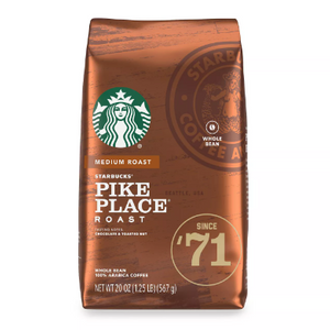 Up to 10 Pounds of Starbucks Whole Bean Coffee (Past Best By Date) - Ships Quick!