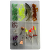 51-Piece or 81-Piece Fishing Tackle Boxes - Ships Quick!