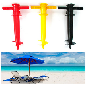 2 Pack: Umbrella Holder or Fishing Rod Stand - Ships Quick!