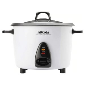 Aroma Housewares 20-Cup Rice Cooker & Food Steamer (Refurbished) - Ships Quick!