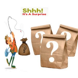 Fishing Warehouse Clearance Surprise Bag - Get It QUICK!