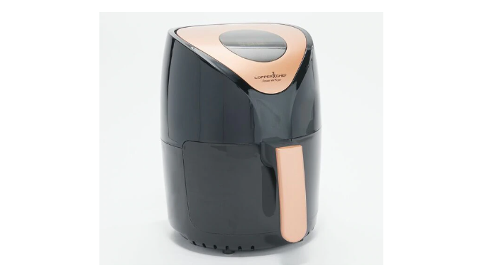Copper Chef Power 2-Qt 1000W Digital Air Fryer w/ Touch Screen (Refurbished with 30-Day Warranty) - Ships quick!