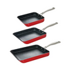 Curtis Stone 3-Piece Dura-Pan Nonstick Slide-Out Pan Set (Open Box) - Ships Quick!