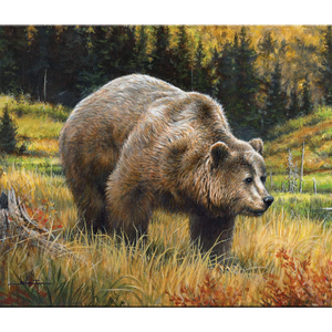 5-Pack: Grizzly Bear Glass Cutting Board + 4 Fish Cutting Boards |  1Sale Exclusive -  Ships Quick!