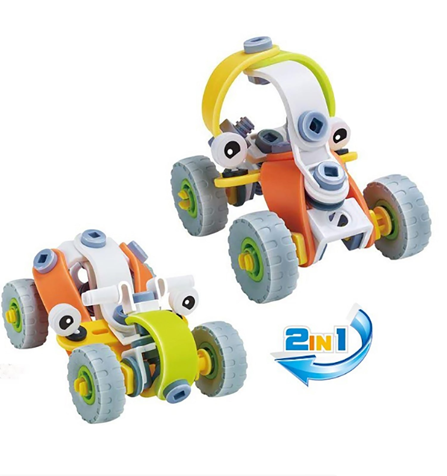 "Buy One Get One Free: Educational 2-in-1 STEM Building Toys - Add any 2 and Enter Promo Code ""ToyBogo"" to Score 1 Free - Ships Same/Next Day!"