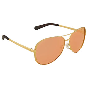 Michael Kors Chelsea Aviator Sunglasses - Ships Same/Next Day!  (MK5004 1024F6 53MM)