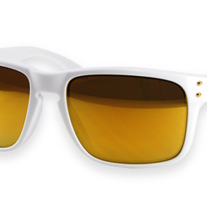 "Oakley Holbrook White 24K Sunglasses (OO9244-14) - Use Code ""GiveMe30"" for $30 Off!"