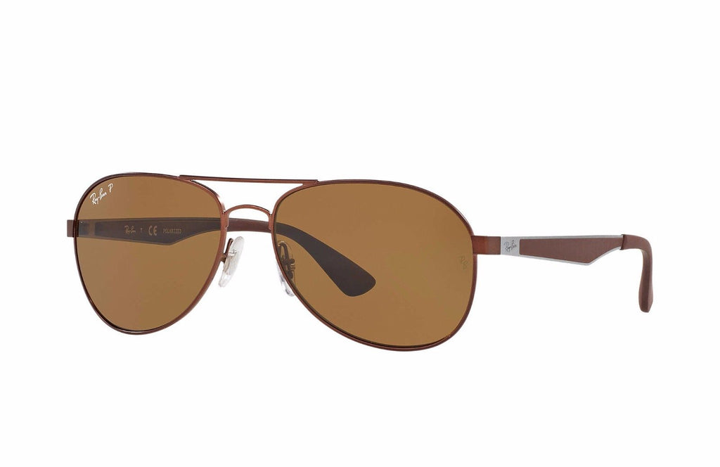 1691e16682d Ray-Ban Polarized Brown Sunglasses (RB3549 012 83 58mm) – 1Sale Deals