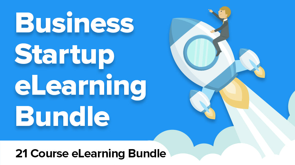 $1 Business Startup eLearning Bundle - You deserve to have a thriving business - 21 Courses for $1!