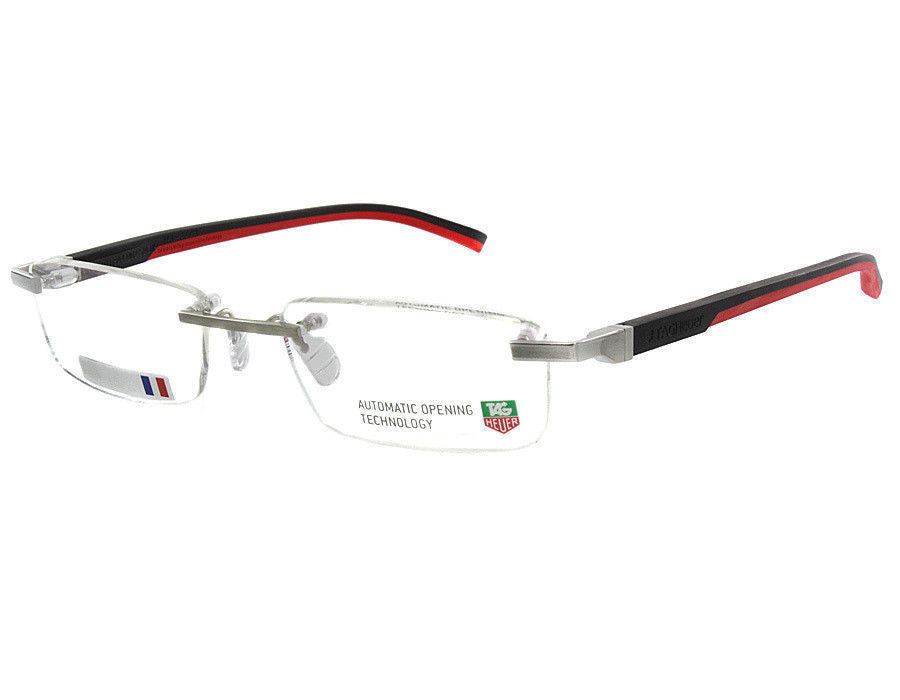 Tag Heuer Automatic Rimless Eyeglasses (TH0844 012 52mm)
