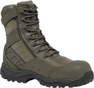 "PRICE DROP: Men's Tactical Research 8"" Composite Toe Metal Free Boots - Ships Next Day!"