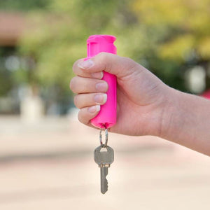PRICE DROP! Limited Inventory! SABRE Flip Top Pepper Gel w/ Key Ring – Gel is Safer – Maximum Police Strength - Ships quick!