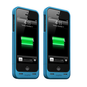 Pack of 2: Mophie Juice Pack Helium for iPhone 5/5S/5SE (1,500mAh each) - Blue