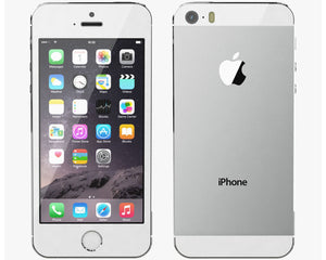 Unlocked Apple iPhone 5S 32GB Silver Refurbished - Ships Quick!