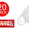 PRICE DROP: 5, 10 or 20 Pack: KN95 Face Masks - SHIPS FROM U.S. (2-Day Shipping Available) - Orders in by 2PM ET Ship Same Business Day!