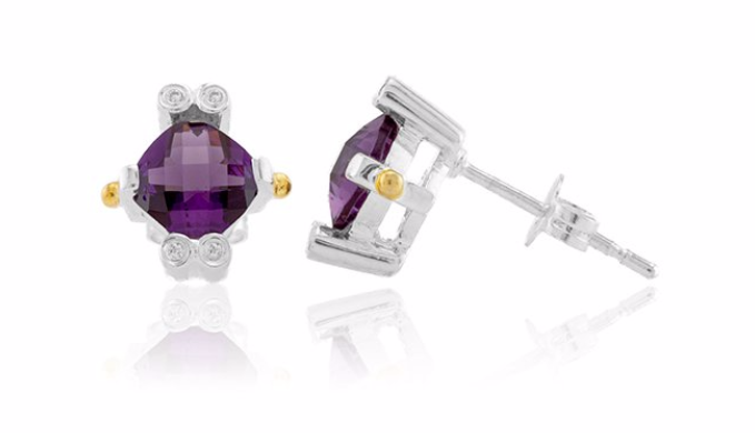 Amethyst Lavale Earrings — Limited Quantity Available!