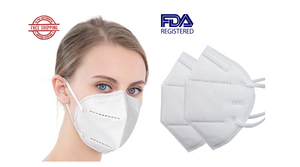 (As low as 60¢!) FURTHER REDUCED: 10 - 1000 Pack: KN95 Face Masks - SHIPS FROM U.S. - Orders in by 1PM ET Ship Same Business Day!