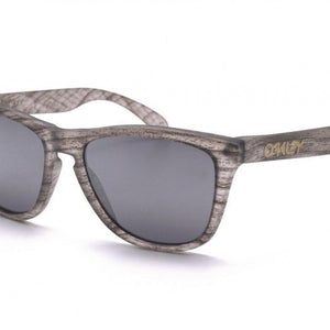Oakley Frogskins Clear Woodgrain Sunglasses (OO9013-B6)