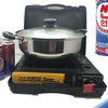 Portable Butane Gas Stove Top with Heavy Duty Carrying Case - Ships Next Day!