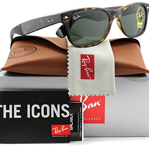 Ray-Ban Classic Wayfarer Sunglasses - Ships Same/Next Day! (RB2132 902L 55mm)