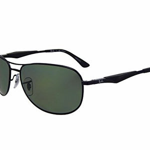 Ray-Ban Tech Polarized Aviator Sunglasses (RB3519 006/9A 59mm)