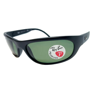 Ray-Ban Polarized Matte Black Sunglasses (RB4033 601-S/48 60MM)
