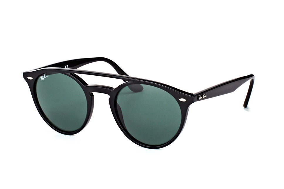 RAY-BAN Matte Black Round Sunglasses (RB4279 601/71 51mm)
