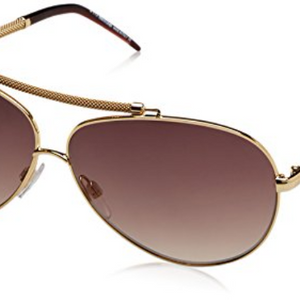 Roberto Cavalli Gold Burgundy Sunglasses (849S-D26 62mm)