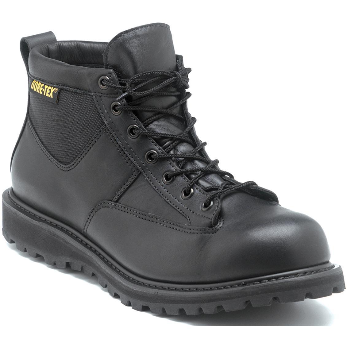 HUGE PRICE DROP: Rocky Black Leather Goretex Northern Ops Chukka Boots - Ships Same/Next Day!