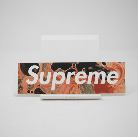 Supreme Blood & Semen Box logo Sticker