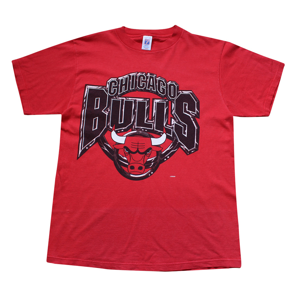 NBA Chicago Bulls Vintage Tee - Thriftfinds, NZ Vintage clothing store