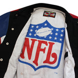 Jeff Hamilton NFL Leather Bomber - Thriftfinds, NZ Vintage clothing store