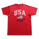Ralph Lauren USA Flag Tee - Thriftfinds, NZ Vintage clothing store