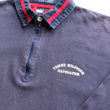 Tommy Hilfiger Navigator Rugby Polo - Thriftfinds, NZ Vintage clothing store