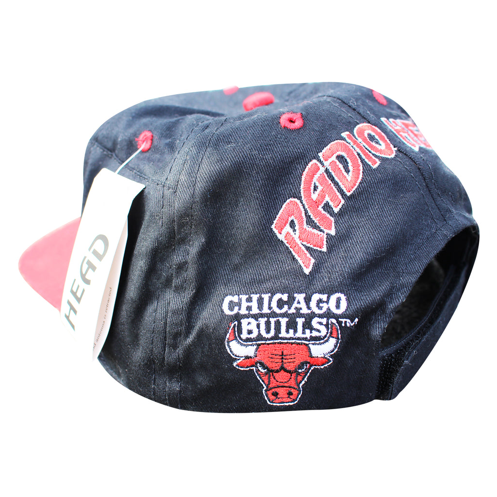 7d6164eed20 Chicago Bulls 90 s NBA Radiohead Hat - Thriftfinds