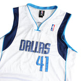 "Dirk Nowitzki NBA ""41"" Dallas Jersey - Thriftfinds, NZ Vintage clothing store"