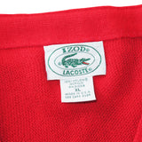 Lacoste 80's Cardigan Sweater