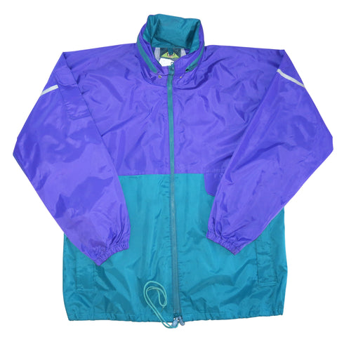 90's Colourway Thick Windbreaker