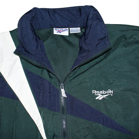 Reebok 80's Windbreaker - Thriftfinds, NZ Vintage clothing store