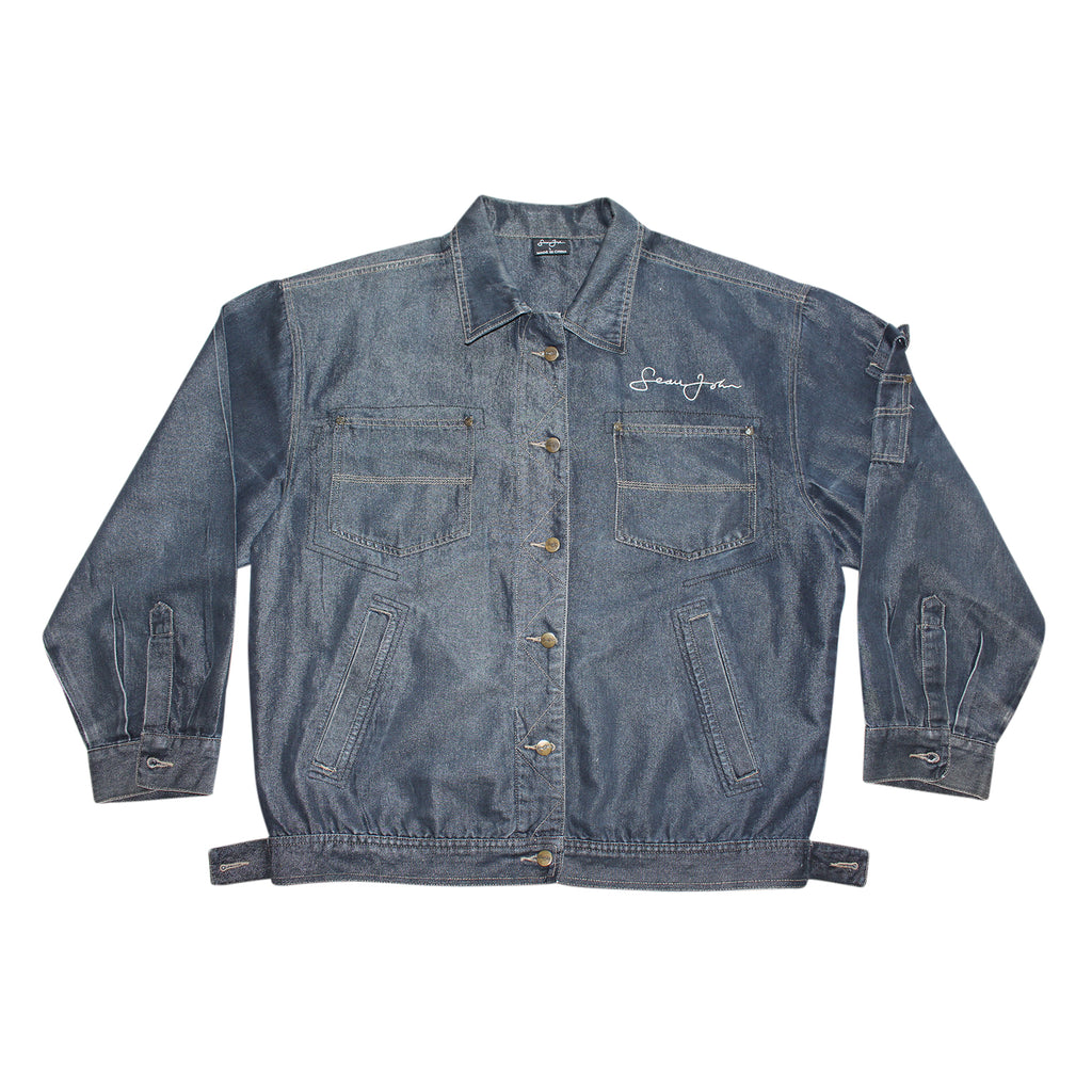 Sean John 90's Denim Jacket - Thriftfinds, NZ Vintage clothing store