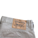 Levis 505 Beige Denim Jean - Thriftfinds, NZ Vintage clothing store