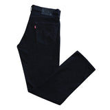 Levis 511 Black Denim Jeans - Thriftfinds, NZ Vintage clothing store