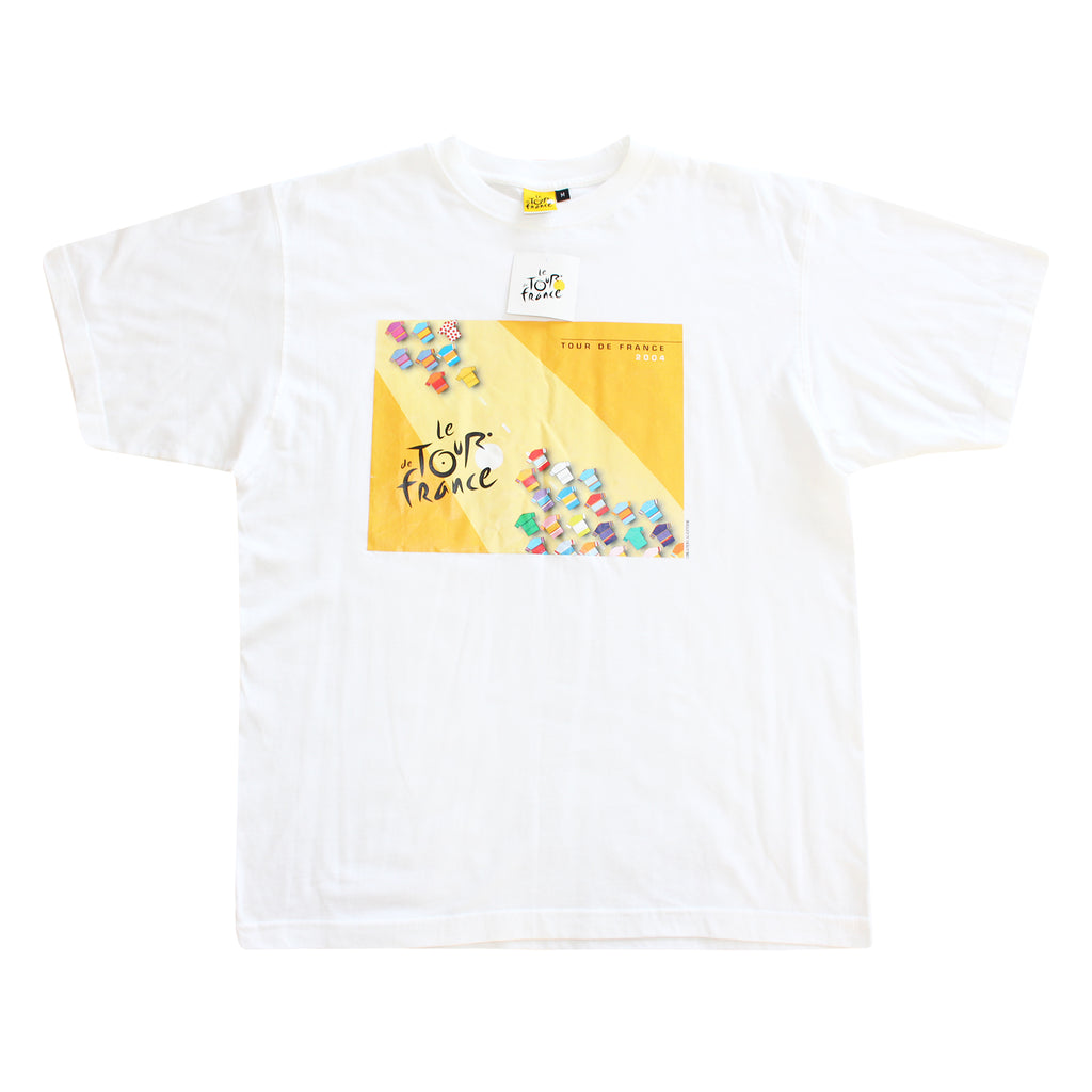 Le Tour France 2004 Tee - Thriftfinds, NZ Vintage clothing store