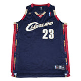"Lebron James NBA ""23"" Cleveland Jersey - Thriftfinds, NZ Vintage clothing store"