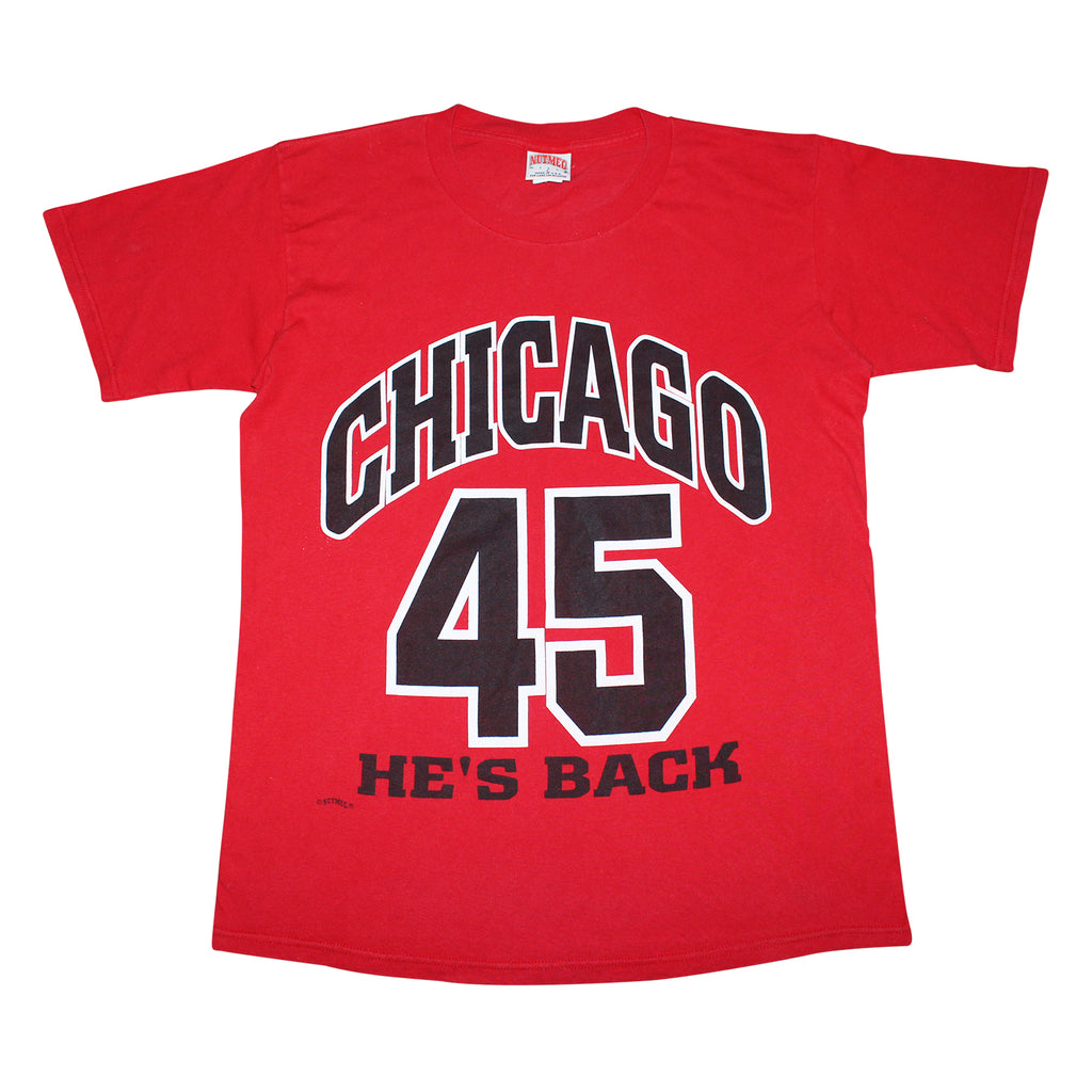 Chicago Bulls Michael Jordan Tee - Thriftfinds, NZ Vintage clothing store