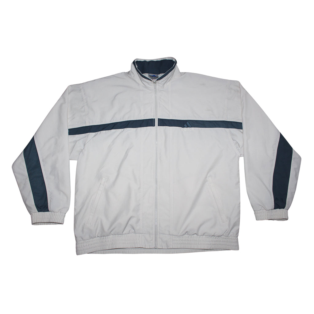 Adidas 90's Bomber Jacket - Thriftfinds, NZ Vintage clothing store