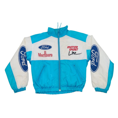 Marlboro Motor Sport Windbreaker - Thriftfinds, NZ Vintage clothing store